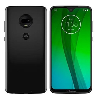 Smartphone Motorola Moto G7 Ônix, Dual Chip, Tela 6,24