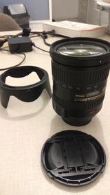 Lente Nikkor (p/ Nikon) 18-200mm F/3.5-5.6g Ed Af-s Dx Vr