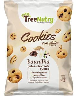 Cookie Baunilha Com Gotas De Chocolate E Quinoa 9 Uni 35 G