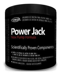 Pré Treino Power Jack Nox Pump Cafeína Anidra Frete Grátis