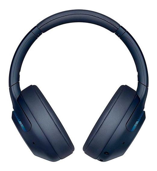 Headphones Com Noise Cancelling Sem Fio Wh-xb900n Azul