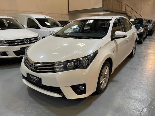 Toyota Corolla 1.8 Xei Mt 140cv 2015 Blanco Cassano Automobi