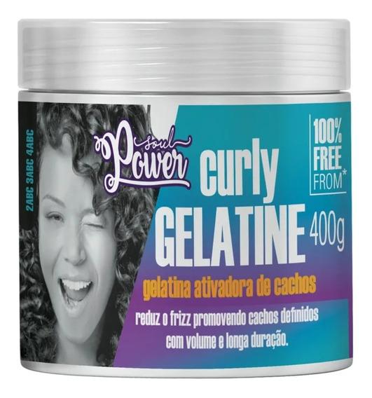 Gelatina Anti Frizz Soul Power