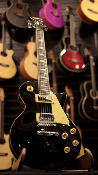 Guitarra Les Paul Strinberg Preta Lps-230 Fgrátis + Brinde