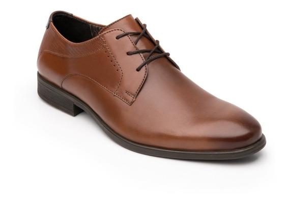 Zapato Flexi Hombre 403301 Cafe Vestir