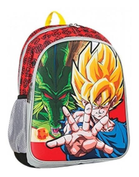 Mochila Dragon Ball Z Goku Saiyajin 16° En 3d Oferta Envios