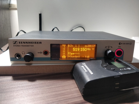 Sistema In Ear Sennheiser - Ew300 Iem G3 Range A