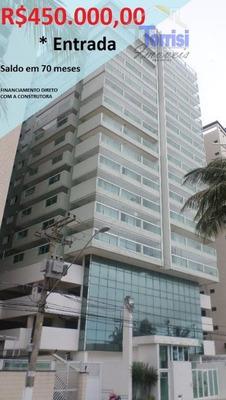Cobertura Triplex Em Praia Grande, R$450.000,00 De Entrada, 03 Dormitórios Sendo Suítes, Lazer Completo Na Aviação Co0024 - Co0024