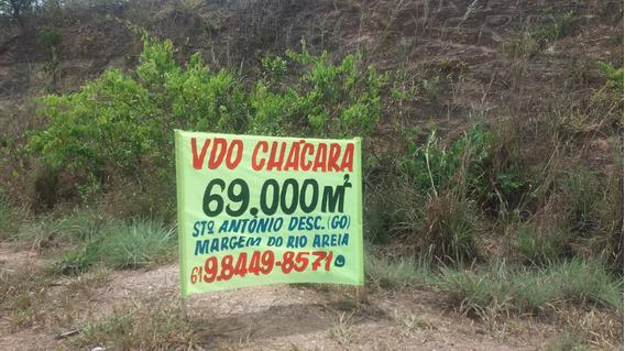 Chácara Com Rio - Santo Antonio Do Descoberto - Go
