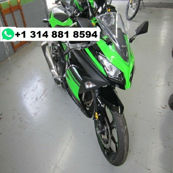 Verde 2017 Kawasaki Ninja 300 Abs