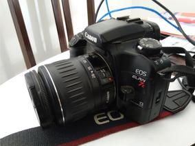Câmera Canon Eos Elan 7e + Lente Canon Ef Zoom 28-90mm 4-5.6
