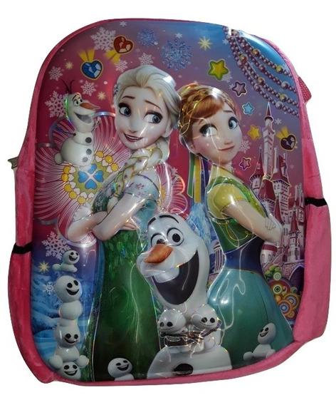 Mochila Infantil Frozen Personagem -lançamento