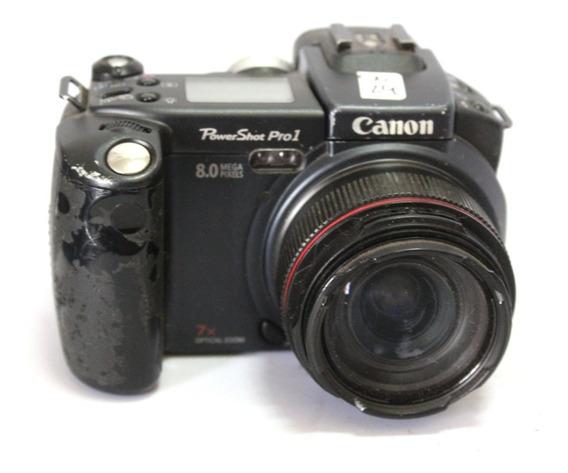 Câmera Digital Canon Powershot Pro 1 Sucata Retirada De Peça
