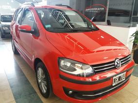 Volkswagen Suran 1.6 Highline I-motion 2012 Roja
