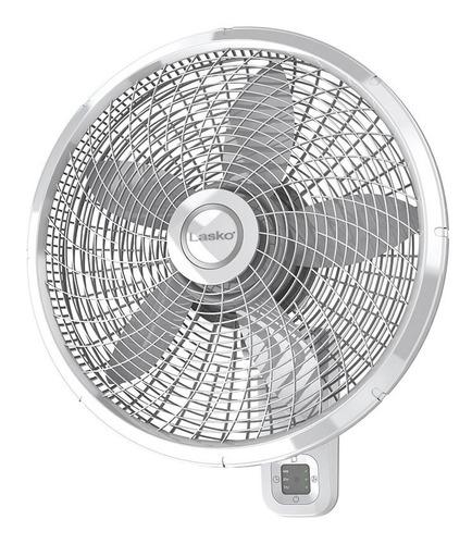 """Imagen 1 de 4 de Ventilador de pared Lasko M18950 blanco con 5 aspas color  white de  plástico, 18"""" de diámetro 120V"""