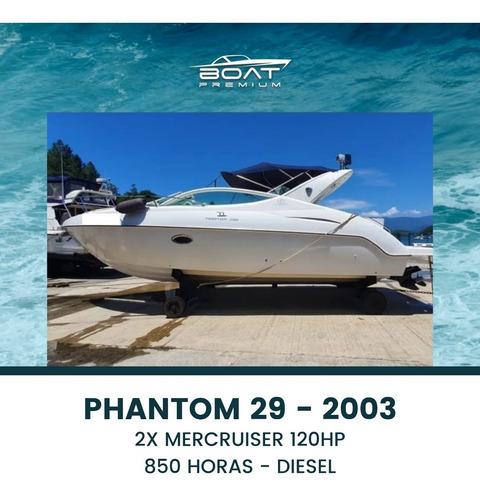 Imagem 1 de 6 de Phantom 29, 2003, 2x Mercruiser 120hp - Cimitarra - Focker