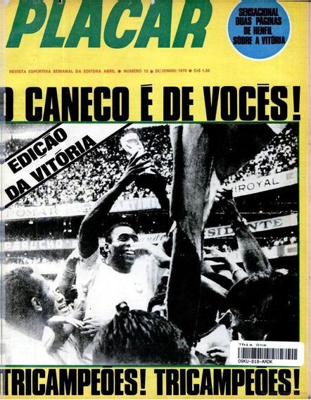 5 Revistas Digitalizados Placar Especial Copa Do Mundo 1970