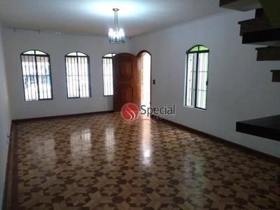 Sobrado Com 3 Dormitórios Para Alugar, 300 M² - Tatuapé - São Paulo/sp - So3707