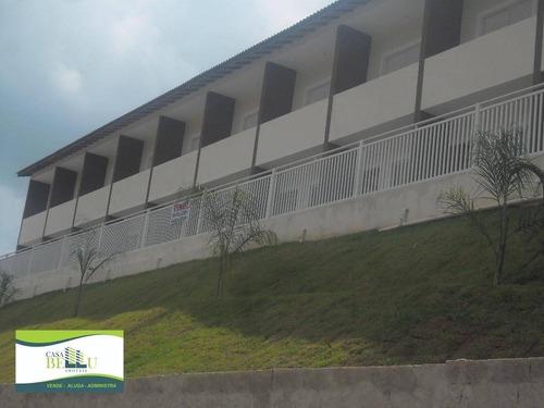 Casa Com 2 Dormitórios À Venda, 63 M² Por R$ 199.000,00 - Parque Santa Delfa - Franco Da Rocha/sp - Ca0082