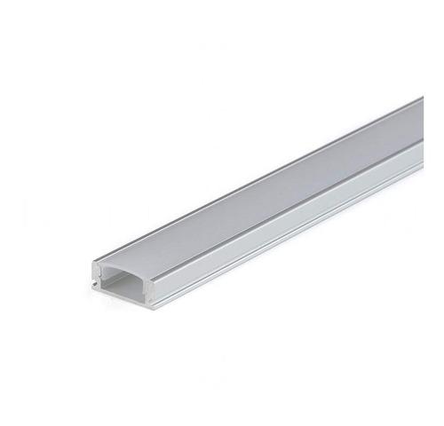 Perfil Para Tira Led 12v De Aluminio 1 Metro Largo - Unilux