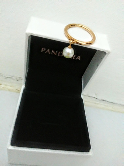 Anel Rose Elegante Esfera Pandora Jóias