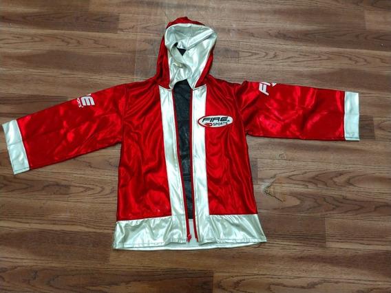 Bata Box Infantil Rojo/plata Fire Sports