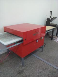 Plancha Neumatica Sublimación 100x80cm Doble   Rm Maquinas
