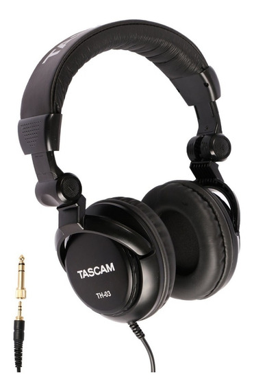 Fone De Ouvido Headphone Tascam Th-03 Studio Headfone