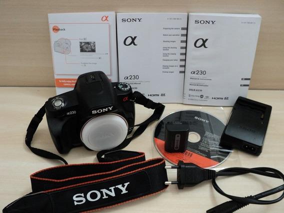 Câmera Digital Sony Alpha Dslr-a230 10.2 Megapixels