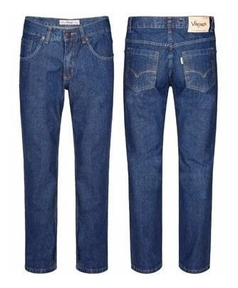 Calca Jeans Azul Tradicional Vilejack