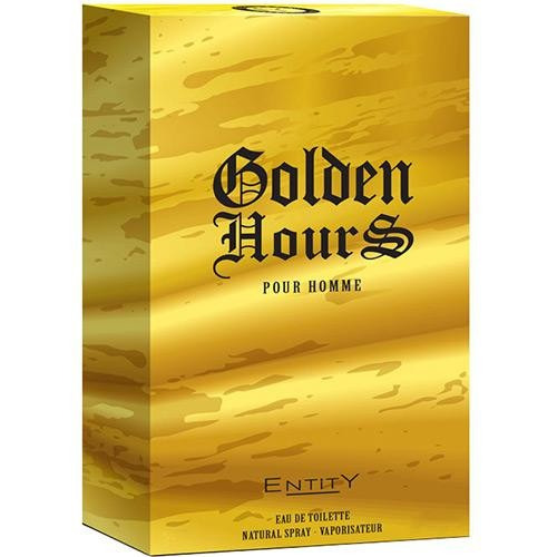 Perfume Entity Golden Hours Men Masculino Eau De Toilette