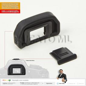 Película Fotga P/ Canon 6d + Protetor Ocular + P. Sapata Ap