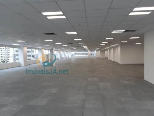 Laje Corporativa - Venda-  Open Space Com 2.036,85 M², Piso Elevado, Forro Modular, Luminárias Em Led, Ar-condicionado - 820