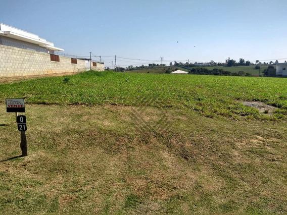 Terreno À Venda, 1000 M² Por R$ 128.000,00 - Condomínio Fazenda Alta Vista - Salto De Pirapora/sp - Te5521