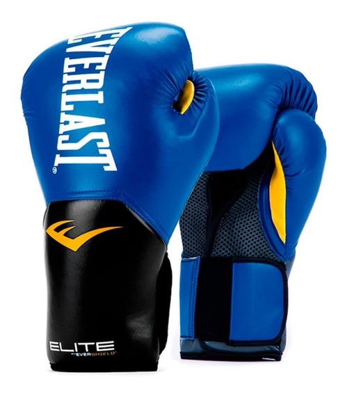 Guantes De Boxeo Pro Style Elite Training Azul - Everlast