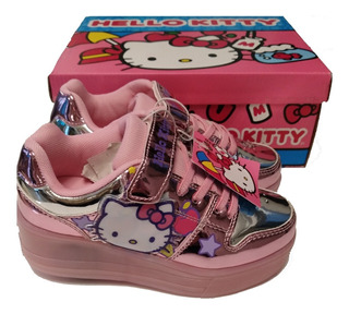 Tenis Patines Hello Kitty Led Rueda Originales Envío Gratis