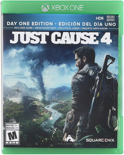 Xb1 - Just Cause 4 Day One Edition - Nuevo Y Sellado - Ag