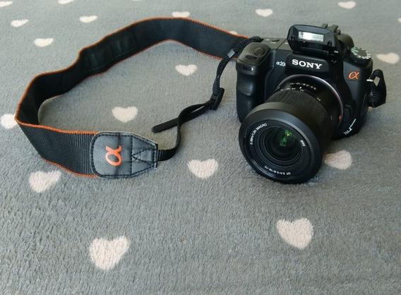 Camera Sony Alpha 200 + Acessorios