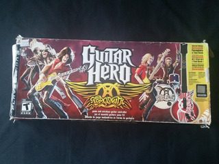 Caja De Guitar Hero Aerosmith