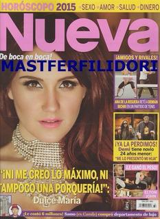 Dulce Maria Revista Nueva Diciembre 2014 Rbd Rebelde