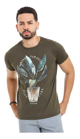 Camiseta Estampada Masculina Algodão Premium Vários Modelos