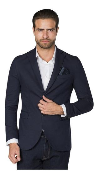 Sacos Hombre Slim Fit Casuales Formales Blazer Vestir F85307