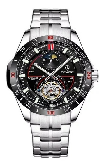 Relógio Tevise 855 Automatico Mecanico Masculino Original