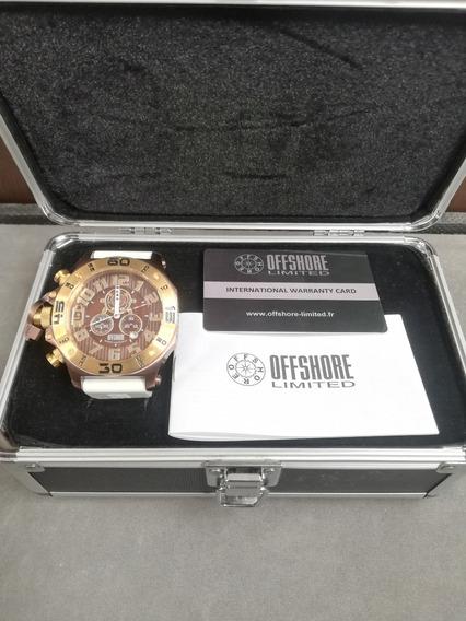 Reloj Offshore Tornade Blanco Nuevo