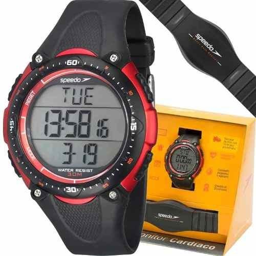 Relógio Speedo Monitor Cardíaco Original Esport 80565g0epnp1