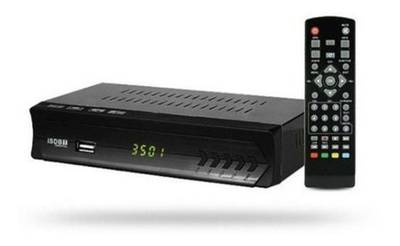 Conversor Digital Para Tv Com Botoes No Aparelho