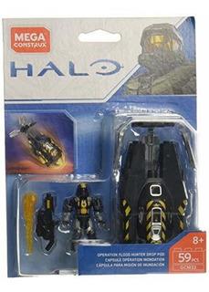 Mega Construx Halo Flood Hunter Drop Pod