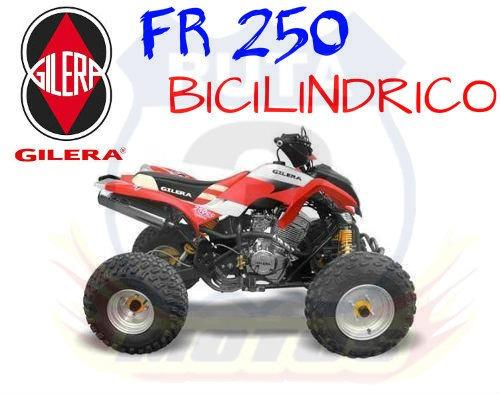 Cuatriciclo Gilera Fr 250 Bicilindrico 0km
