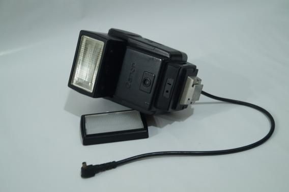 Flash Canon Speedlitte 199a Câmera Analogica Leia Descrição