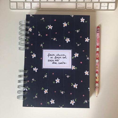 Caderno Bullet Journal Ou Sketchbook Personalizável